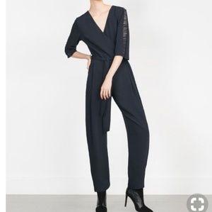 Zara Cross Front Jumpsuit
